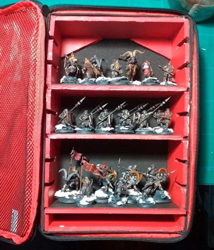 DIY Magnetized Miniatures Storage